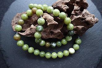 Minerály - Jadeit j. 10mm - 8533723_