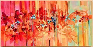 Obrazy - Kvetinová záhrada v Tokodu - 8534174_