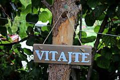 Tabuľky - VITAJTE - 8535796_