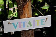 Tabuľky - VITAJTE - 8535820_