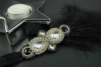 Ozdoby do vlasov - Great Gatsby Geometrický ornament ... čelenka - 8539319_