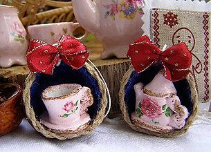 Dekorácie - (nielen) vianočný čaj :-) - 8536620_