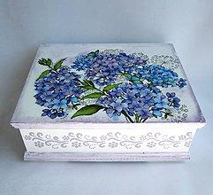 Krabičky - Šperkovnica - Hortenzia - 8539345_