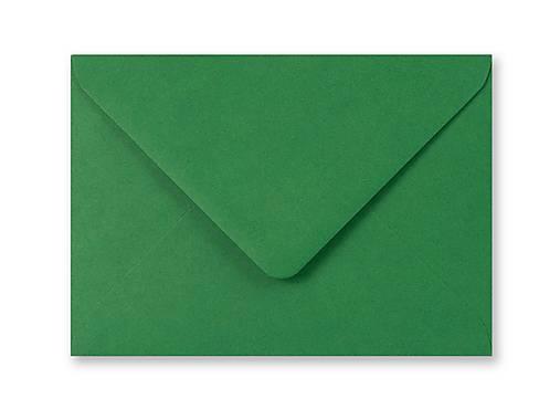 Zelená obálka 39ks
