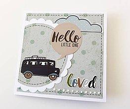 Papiernictvo - pohľadnica pre chlapca - 8536810_