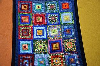 Úžitkový textil - Patchworkový sen - zľava 40% - 8537226_