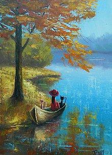 Obrazy - Podzim ve třech - 8539137_
