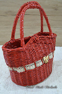 Taštičky - kabelka pre malé parádnice - 8536891_