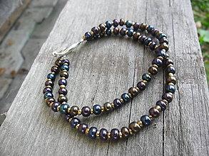 Náramky - Korálikový - metalické farby - 8538657_