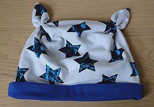 Detské čiapky - čiapka s uškami - 8537642_