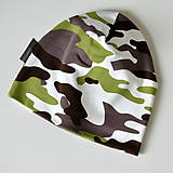 Detské čiapky - detská čiapka MASKÁČ - 8538390_