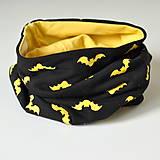 Detské doplnky - detský nákrčník netopiere - 8538484_