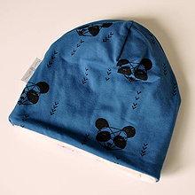 Detské čiapky - detská čiapka oteplená KOALY - 8538596_
