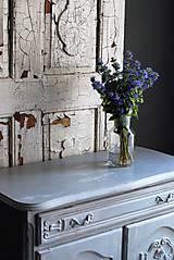 Nábytok - Patinovaná skrinka Paris grey - Predaná :) - 8539781_