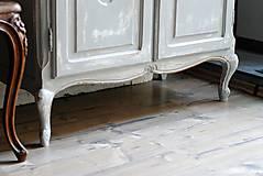 Nábytok - Patinovaná skrinka Paris grey - Predaná :) - 8539787_