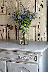 Nábytok - Patinovaná skrinka Paris grey - Predaná :) - 8539792_