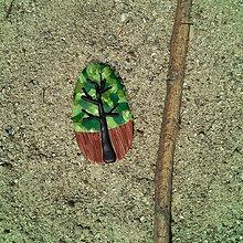 Magnetky - Farebná jeseň - magnetka strom 2 - 8538090_