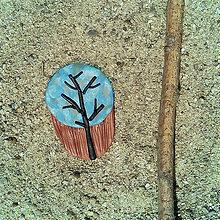 Magnetky - Farebná jeseň - magnetka strom 3 - 8538096_