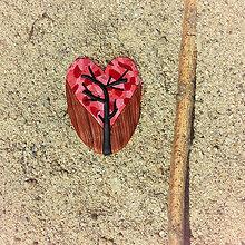 Magnetky - Farebná jeseň - magnetka strom 4 - 8538097_