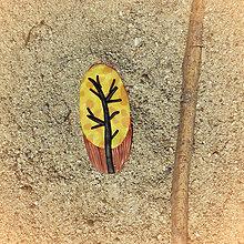 Magnetky - Farebná jeseň - magnetka strom - 8538105_