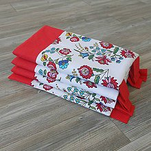 Úžitkový textil - Zástena bez vreciek *Folk* - 8540572_