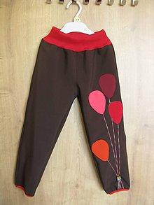 Detské oblečenie - detské Softshellové nohavice - 8542456_