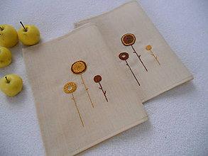 Úžitkový textil - Jesenné (prestieranie) - 8541651_