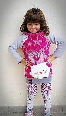 Detské oblečenie - Mikina zajko ;) - 8540467_