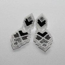 Náušnice - cross - 8542560_