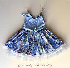 Detské oblečenie - Vílové modrásky. - 8540526_