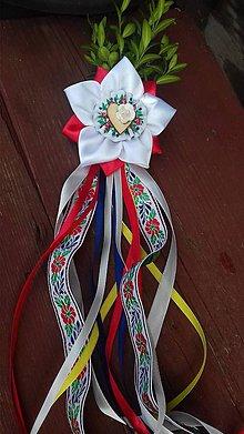 Pierka - svadobné pierko folk krušpán - 8541165_