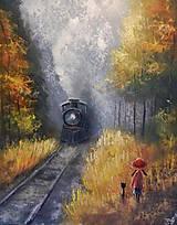 Obrazy - Poslední vlak - 8542655_