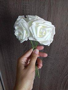 Kytice pre nevestu - Dekoračné ruže - 8540216_