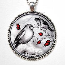 Náhrdelníky - Ptáčci - náhrdelník s vlastným motívom - 8541058_