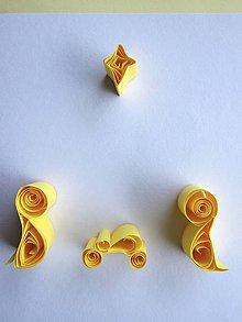Papiernictvo - ♥Betlehem, žltý♥ - 8542131_