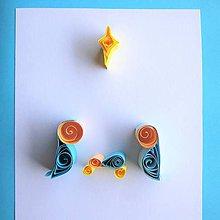 Papiernictvo - ♥Betlehem, farebný♥ - 8542243_