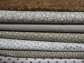 Textil - Látky do hnedá - 8539888_