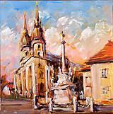 Obrazy - Traja kamaráti VII. (Trnava) - 8542132_