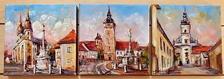Obrazy - Traja kamaráti VII. (Trnava) - 8542133_