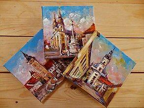 Obrazy - Traja kamaráti VII. (Trnava) - 8542130_