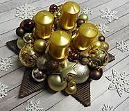- Adventná hviezda - adventný veniec - 8539831_