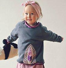 Detské oblečenie - Mikina Pírka - 8541690_