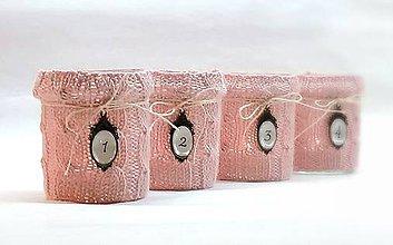 Svietidlá a sviečky - Svetríkové adventné svietniky - 8540987_
