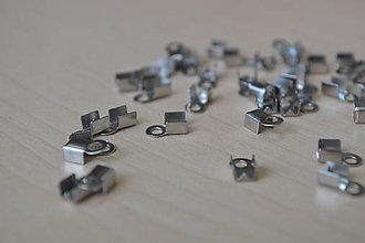 Komponenty - Náramkové zapínanie chirurgická oceľ, 0,08€/ks - 8541274_
