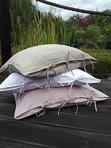 Úžitkový textil - Obliečka na vankúš Beauty in Simplicity (60x40 cm - Biela) - 8542409_