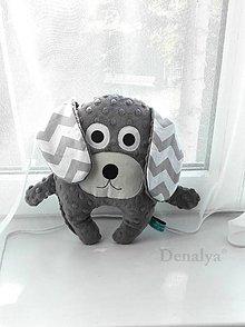 Textil - Havko s hrkálkou a hrýzatkom - 8546409_