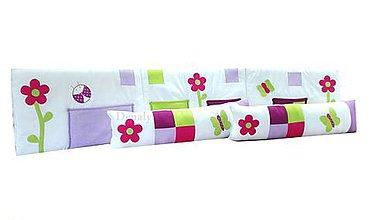Textil - Mantinel/vreckár na stenu 40x200cm Rosemary - 8546572_