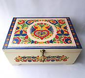 Krabičky - Šperkovnica ornamentová II. s venovaním - 8546364_