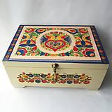 Krabičky - Šperkovnica ornamentová II. s venovaním - 8546366_