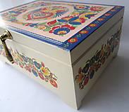 Krabičky - Šperkovnica ornamentová II. s venovaním - 8546367_